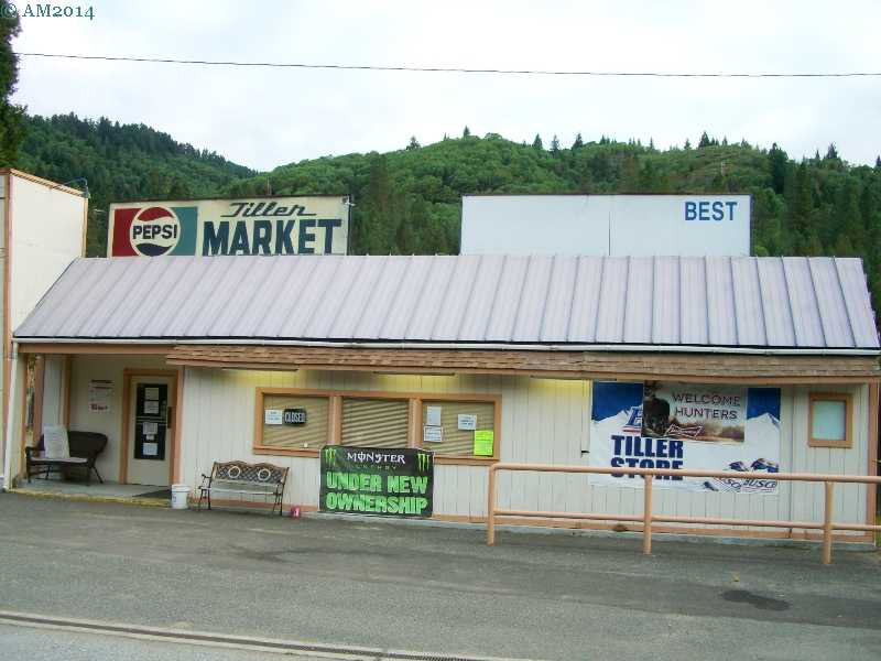 The Tiller Store in Tiller, Oregon.